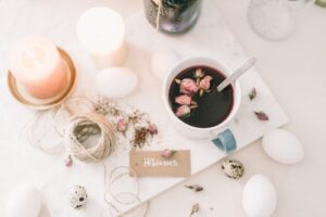Candles are budget-friendly and extremely pretty